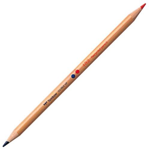 【TOMBOW/トンボ鉛筆】木物語 赤青鉛筆