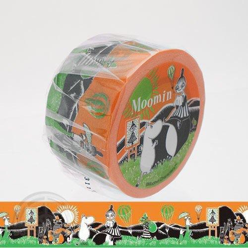 【有限会社くま/KUMA】ムーミンマスキングテープ・絵本シリーズ(ミイと気球)