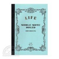 【LIFE/ライフ】ノーブルノート(B5・横罫)