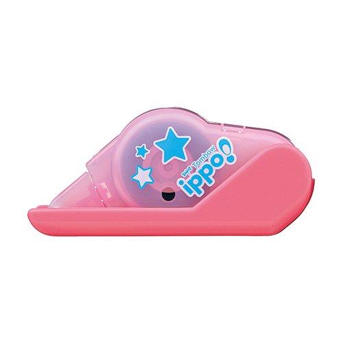 【TOMBOW/トンボ鉛筆】ippo!/テープのり(ピンク)
