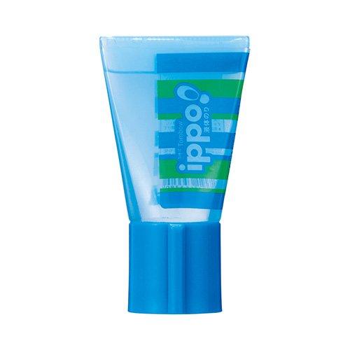 【TOMBOW/トンボ鉛筆】ippo!/チューブ液体のり(ブルー)