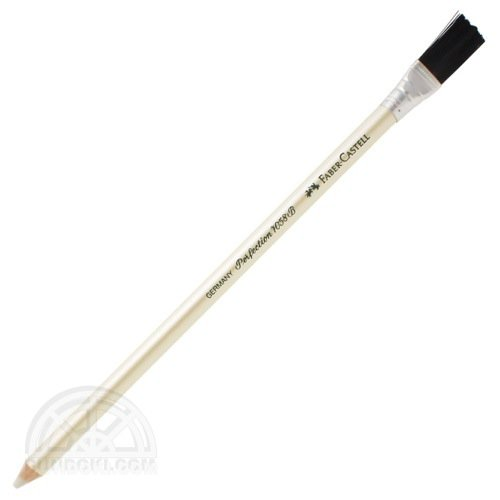 【FABER-CASTELL/ファーバーカステル】PERFECTION 7058-B/ペン型イレーサーインク用 ハケ付き