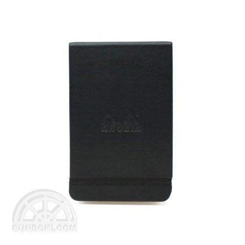 【RHODIA/ロディア】Webnotepad / 7.5×12 横罫(ブラック)