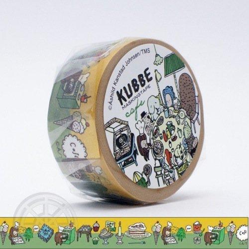 【有限会社くま/KUMA】KUBBE/キュッパ マスキングテープ(カフェ)