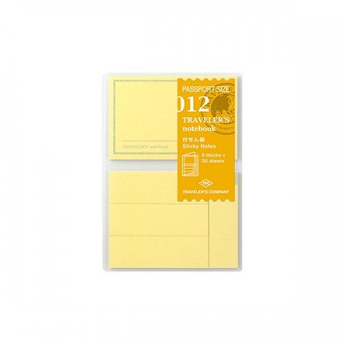 【MIDORI/ミドリ】トラベラーズノート パスポートサイズ リフィル 付せん紙/012