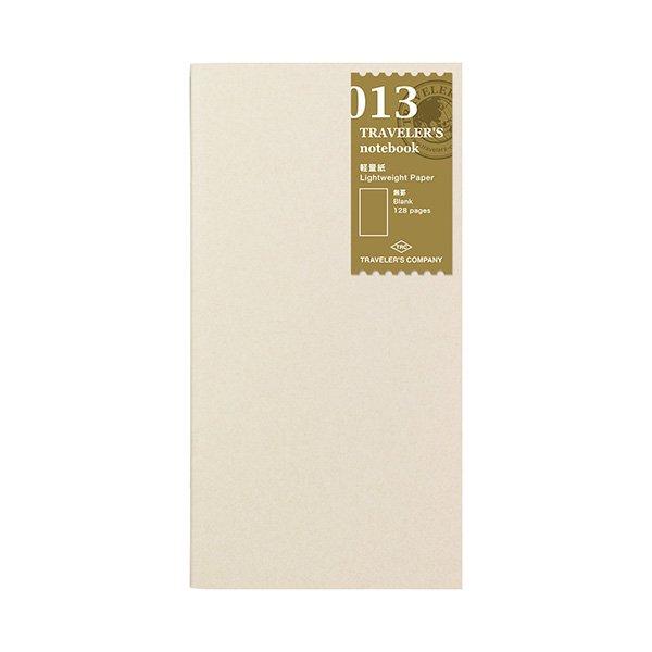 【MIDORI/ミドリ】トラベラーズノート リフィル 軽量紙/013