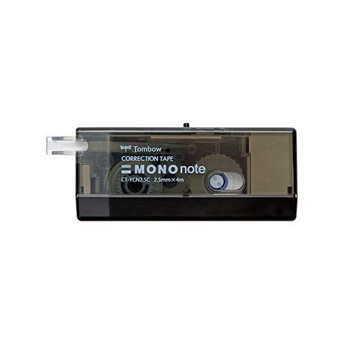 【TOMBOW/トンボ鉛筆】MONO note 修正テープ(ブラック)
