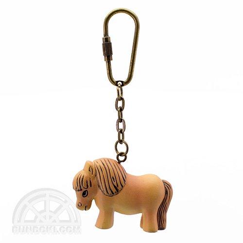 【Lisa Larson/リサ・ラーソン】マスターピースシリーズ・キーホルダー(ポニー/Pony)