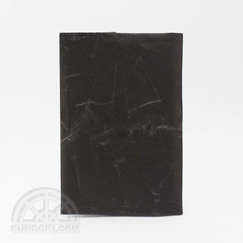 【SIWA・紙和】ブックカバー/文庫サイズ(ブラック)