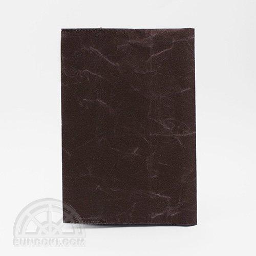 【SIWA・紙和】ブックカバー/文庫サイズ(ダークブラウン)