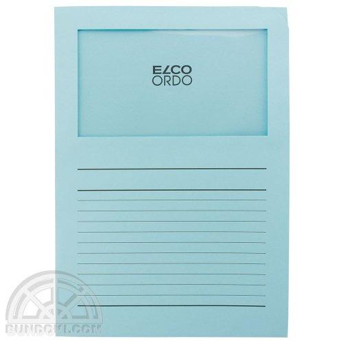【ELCO/エルコ】Office Ordo ウィンドーファイル 10枚入(ライトブルー)