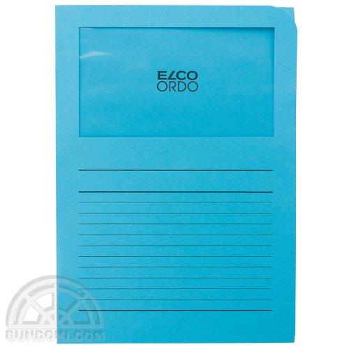 【ELCO/エルコ】Office Ordo ウィンドーファイル 10枚入(ブライトブルー)