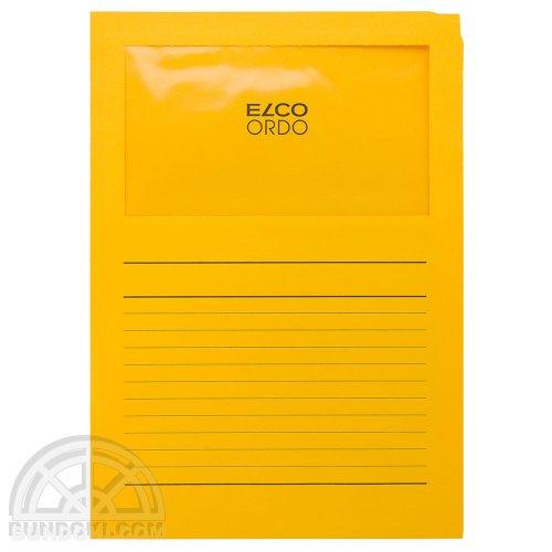 【ELCO/エルコ】Office Ordo ウィンドーファイル 10枚入(ゴールド)