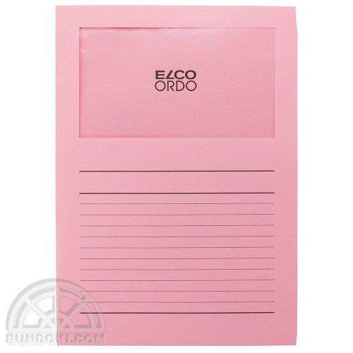 【ELCO/エルコ】Office Ordo ウィンドーファイル 10枚入(ピンク)