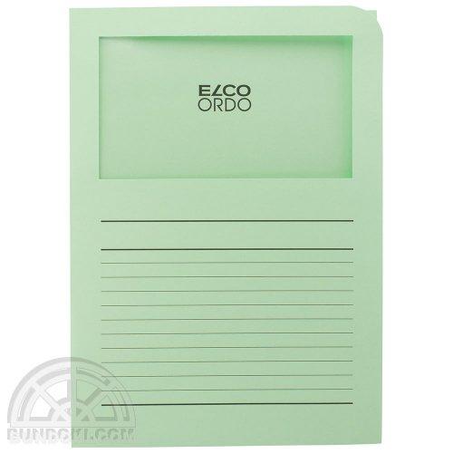【ELCO/エルコ】Office Ordo ウィンドーファイル 10枚入(グラスグリーン)