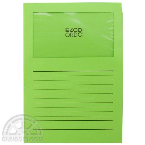 【ELCO/エルコ】Office Ordo ウィンドーファイル 10枚入(ブライトグリーン)