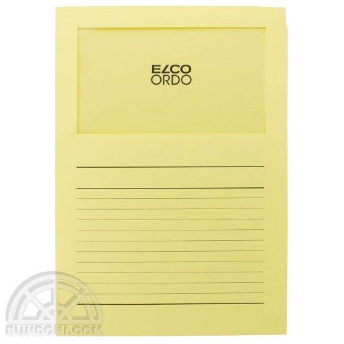【ELCO/エルコ】Office Ordo ウィンドーファイル 10枚入(イエロー)