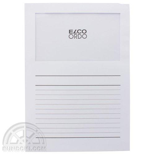 【ELCO/エルコ】Office Ordo ウィンドーファイル 10枚入(ホワイト)