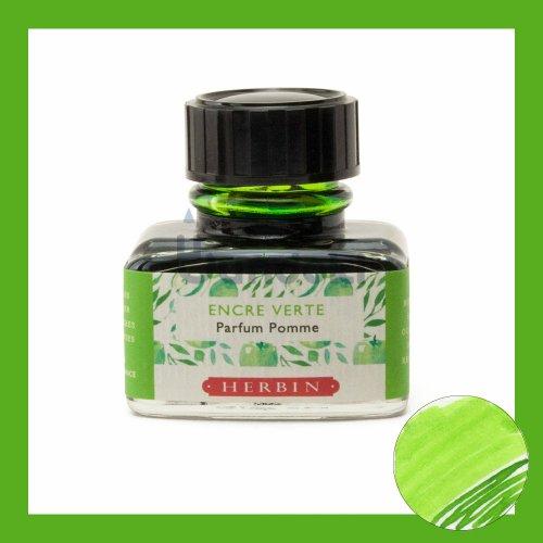 【J.Herbin/エルバン】Parfumee Pomme/香り付インク(アップルグリーン)