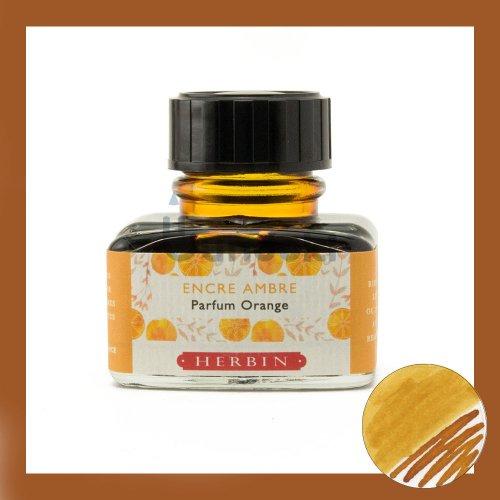 【J.Herbin/エルバン】Parfumee Orange/香り付インク(オレンジアンバー)