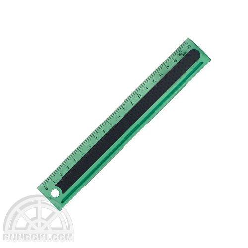 【3L Office products】Griffit RULER 20cm 直定規(グリーン)