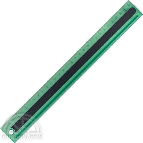 【3L Office products】Griffit RULER 30cm 直定規(グリーン)