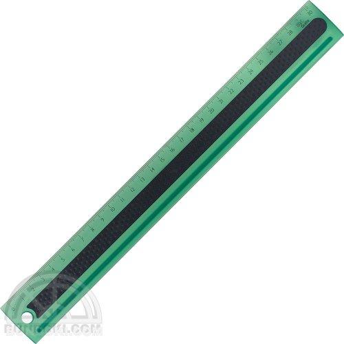 【3L Office products】Griffit RULER 30cm 直定規(グリーン)
