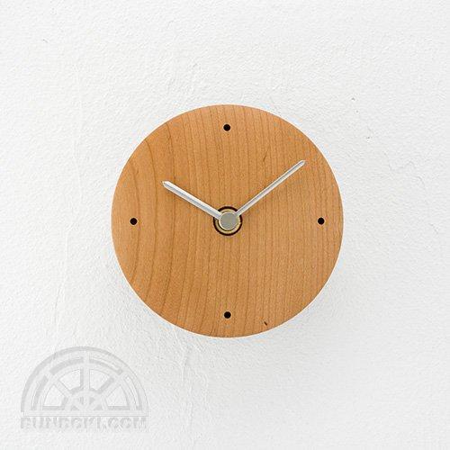 【高橋工芸】Clock 丸(チェリー)