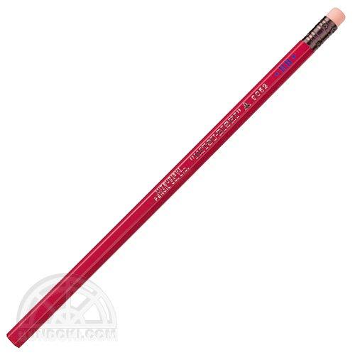 【三菱鉛筆/MITSUBISHI】ロングセラー鉛筆/消しゴムつき鉛筆・9852番(薄紅色)【限定カラー】