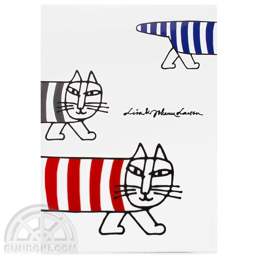 【Lisa Larson/リサ・ラーソン】A4ファイル(ホワイト)