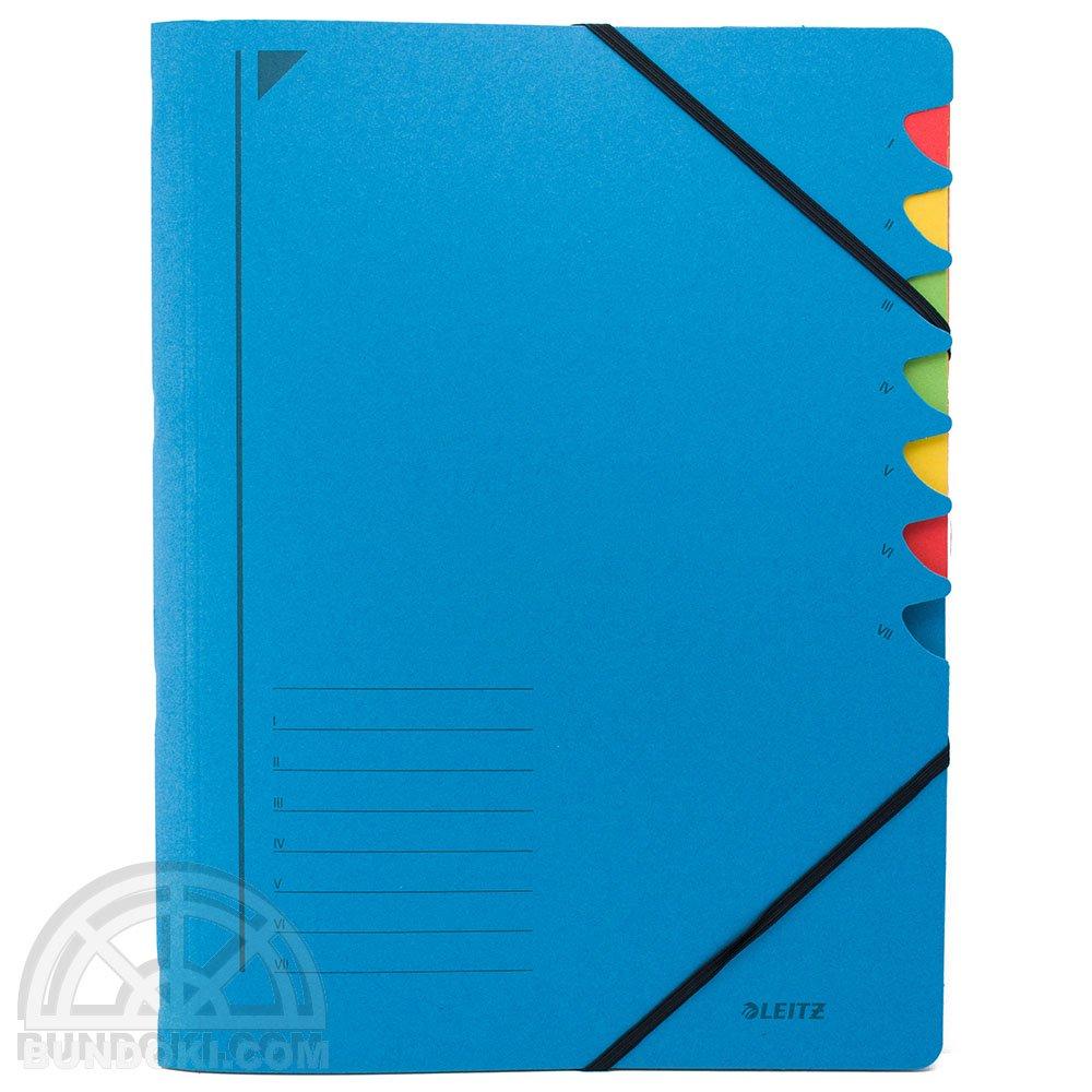 【Leitz/ライツ】パートファイル7(ブルー)