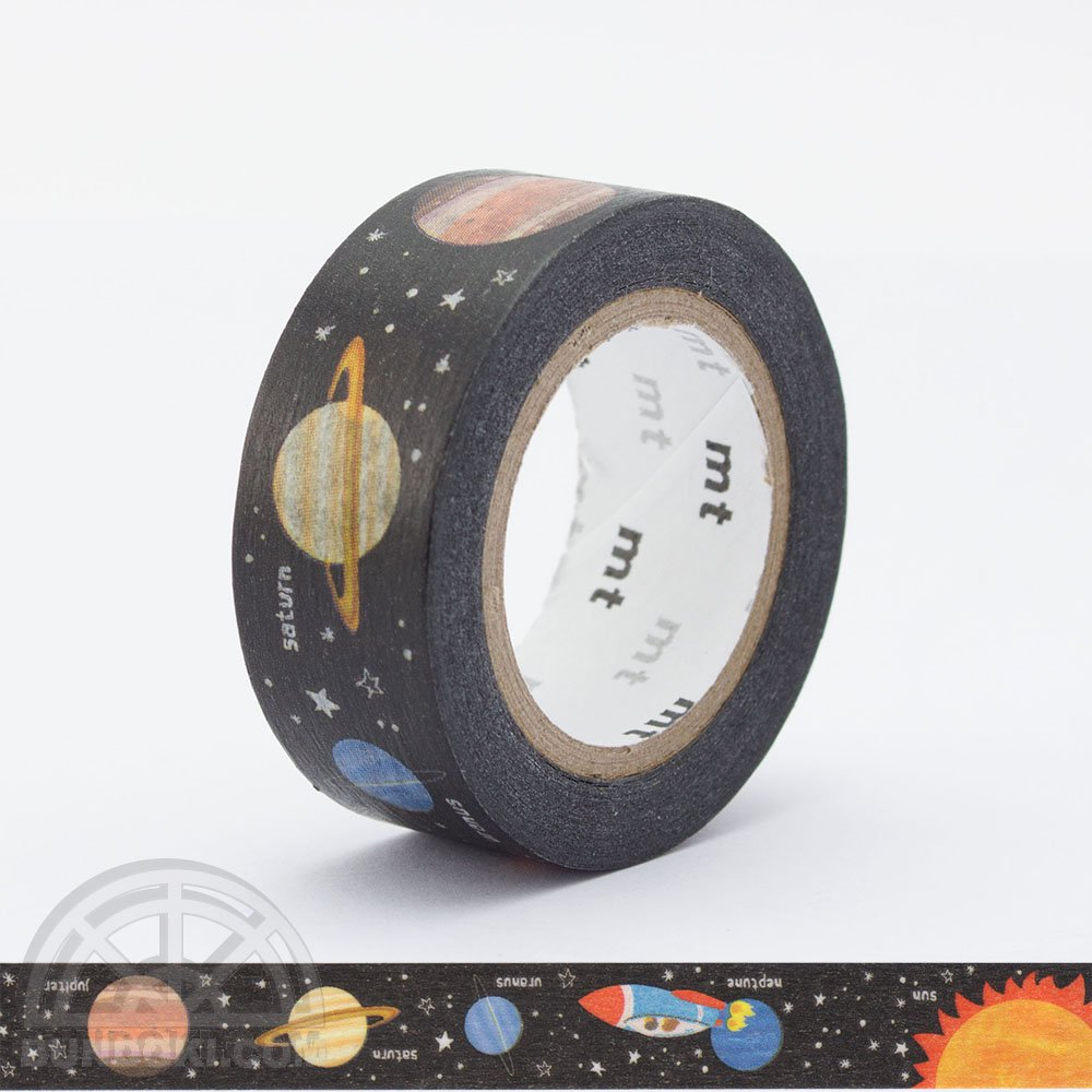 【カモ井加工紙/KAMOI】mt for kids 惑星