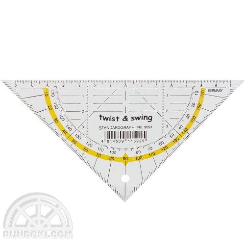 【Standardgraph/スタンダードグラフ】twist & swing 三角定規