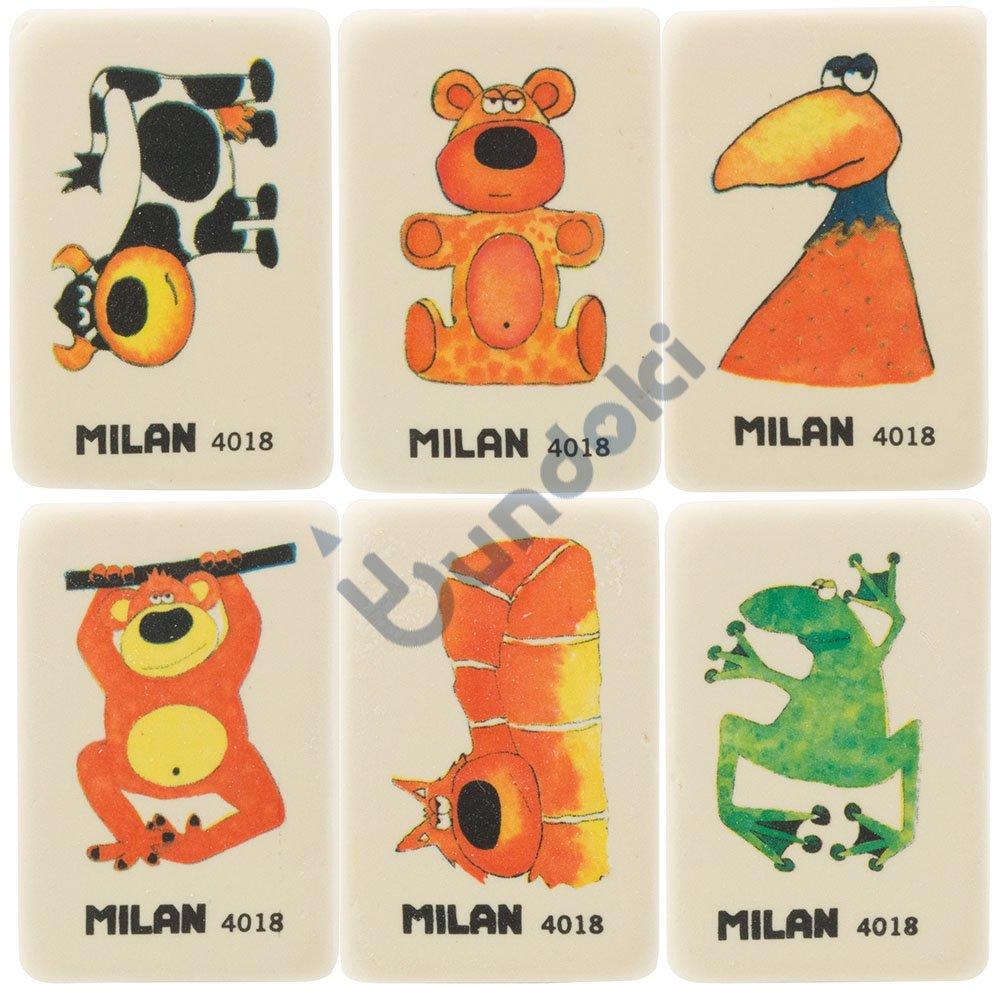 【MILAN/ミラン】アニマル消しゴム 4018