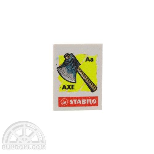 【STABILO/スタビロ】 Fancy eraser(アルファベット)