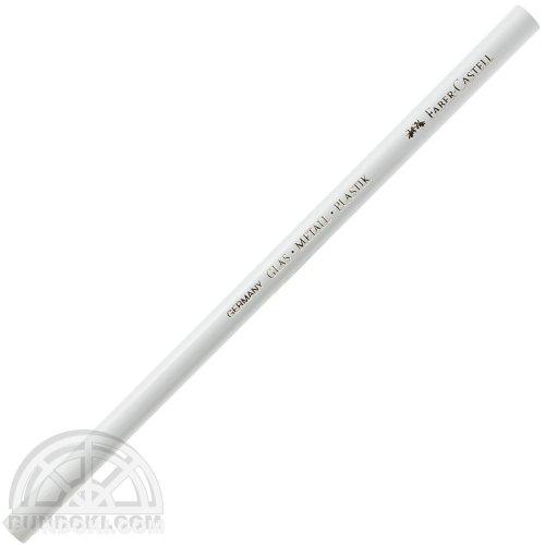 【FABER-CASTELL/ファーバーカステル】ガラス用色鉛筆(ホワイト)