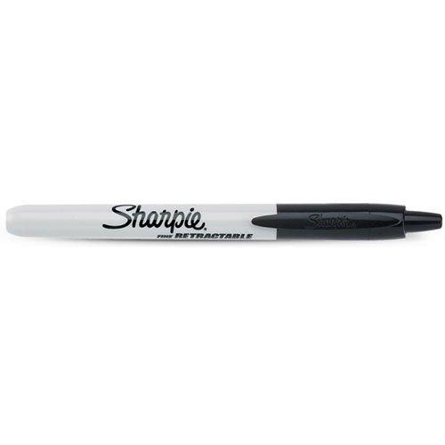 【SHARPIE/シャーピー】リトラクタブルノック式油性マジック(ブラック)