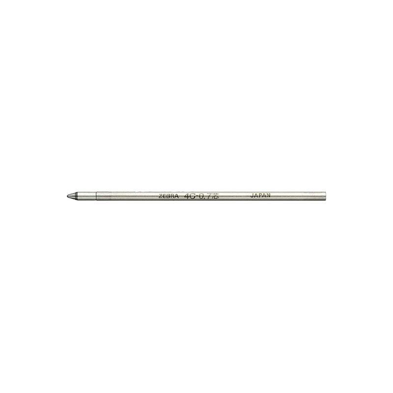 【ZEBRA/ゼブラ】油性ボールペン替芯/4C-0.7芯 (黒)