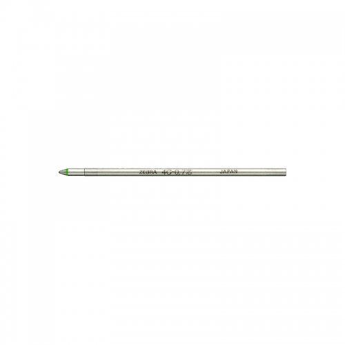 【ZEBRA/ゼブラ】油性ボールペン替芯/4C-0.7芯 (緑)