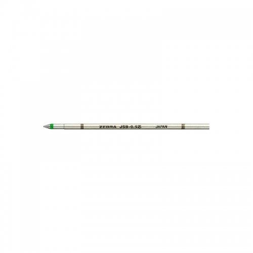 【ZEBRA/ゼブラ】ジェルボールペン替芯/JSB-0.4芯 (エメラルドグリーン)