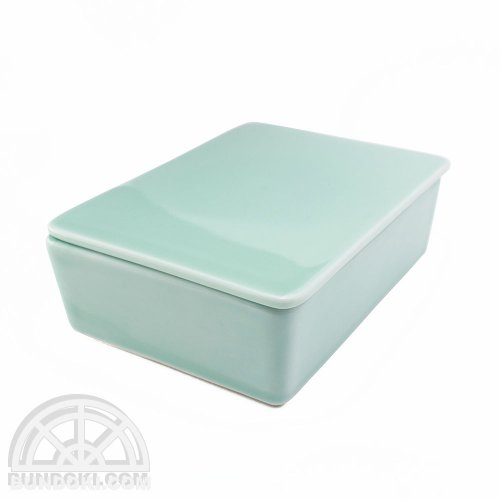 【MERCROS/メルクロス】CERAMIC CASE BOX(ライトグリーン)