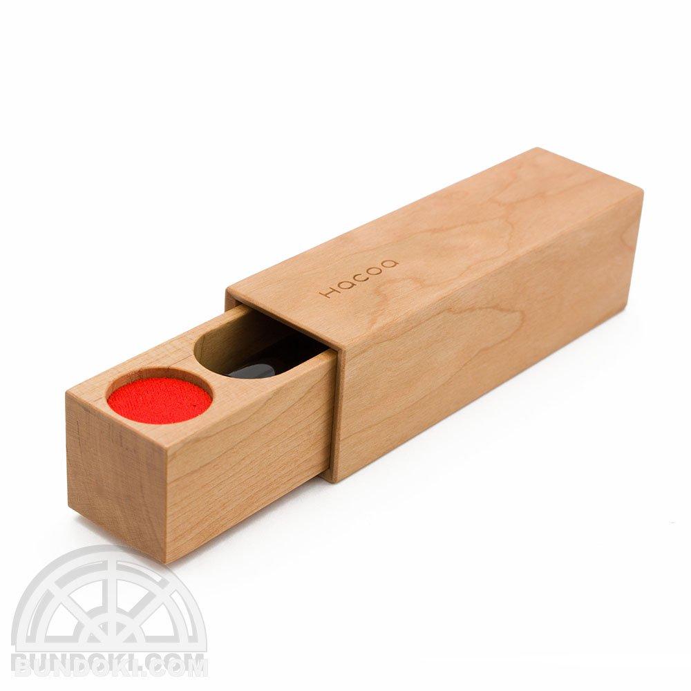 【hacoa/ハコア】木製印鑑ケース・実印タイプ(チェリー)