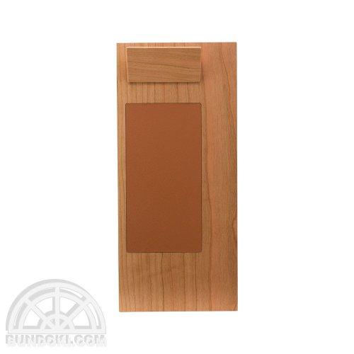 【hacoa/ハコア】Clip Board/木製クリップボード・レシート用(チェリー)