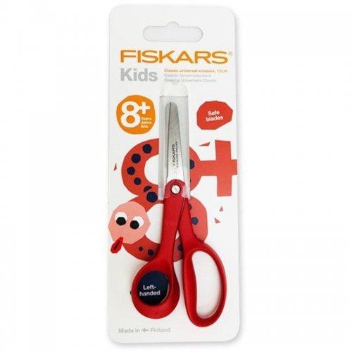 【FISKARS/フィスカース】子供用先丸ハサミ(左利き用)