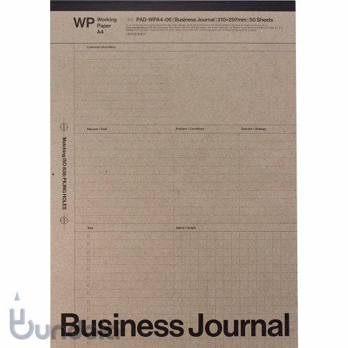 【UNITED BEES/ユナイテッドビーズ】WP/ワーキングペーパー・A4(ビジネス)
