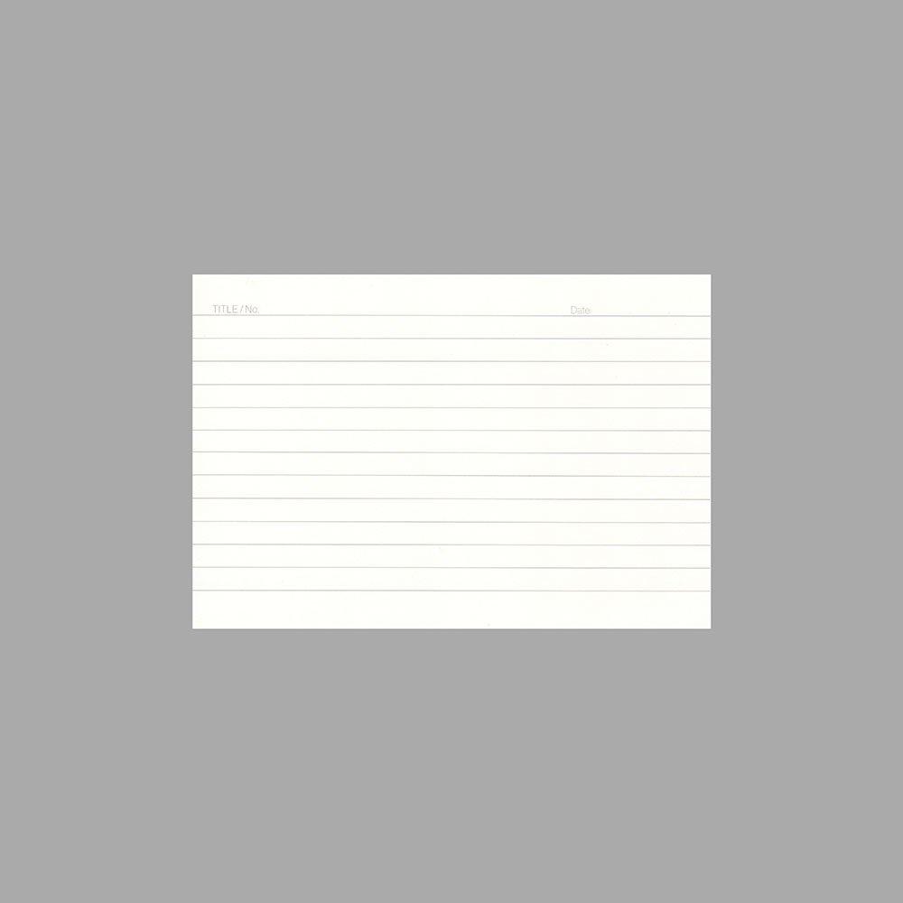 【UNITED BEES/ユナイテッドビーズ】プライムインデックスカード(コンパクトA6/横罫)
