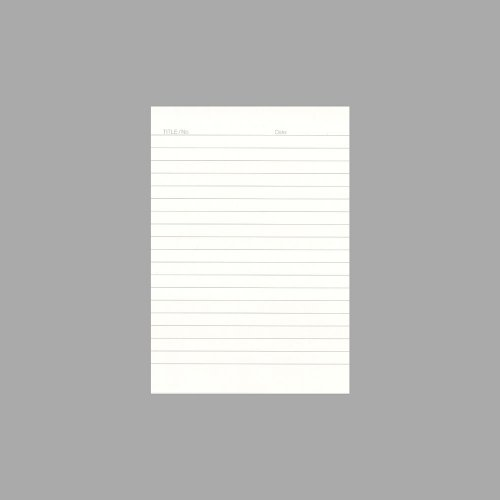 【UNITED BEES/ユナイテッドビーズ】プライムインデックスカード(コンパクトA6/縦型横罫)