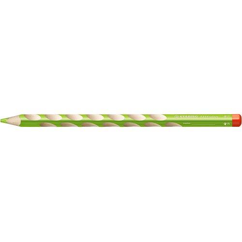 【STABILO/スタビロ】EASY colors 三角軸色鉛筆(単色販売/右利き用・ライトグリーン)