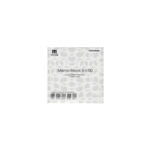 【古川紙工】3120 Memo block 5×50 (S)