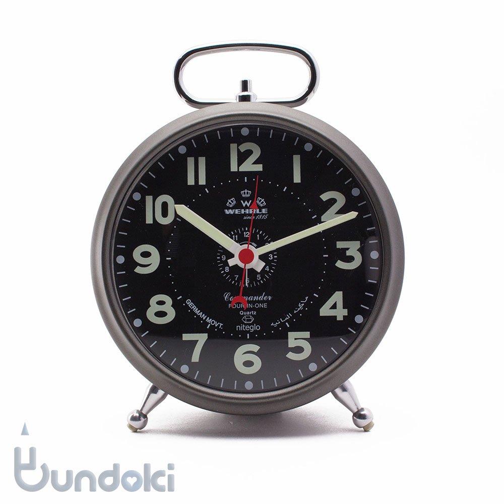【Wehrle/ウェラ】Commander Alarm Clock/コマンダーアラームクロック